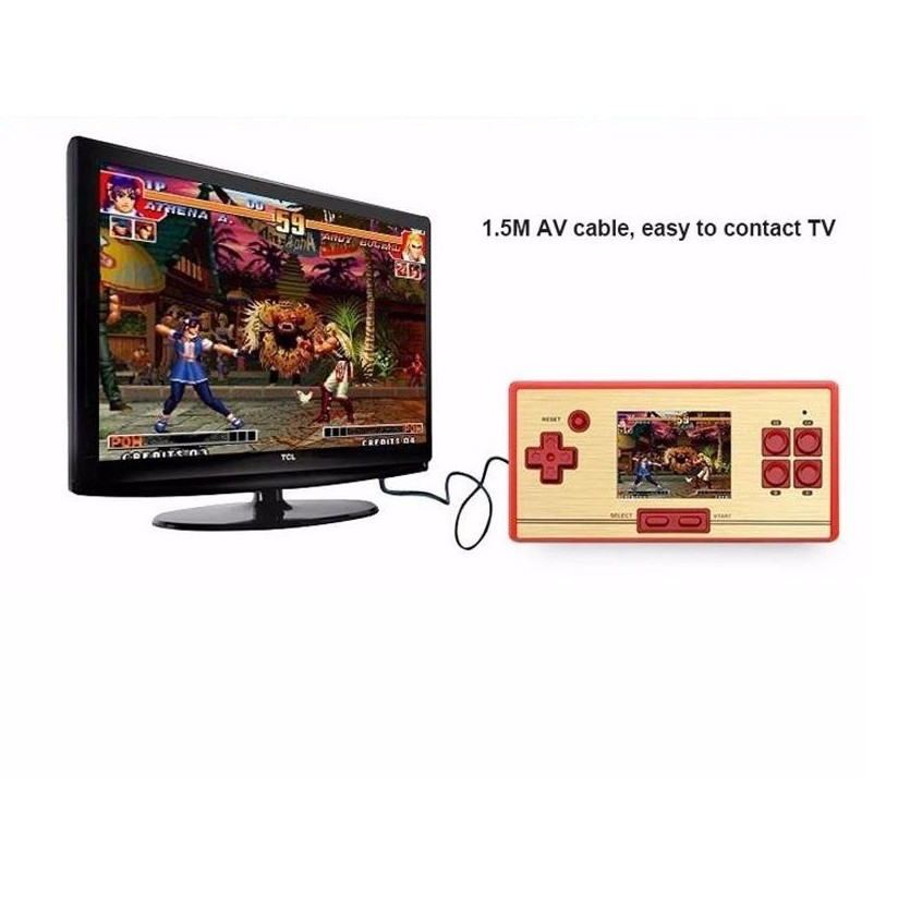 AV Output Retro Game TV Console Handheld Portable 600 Games