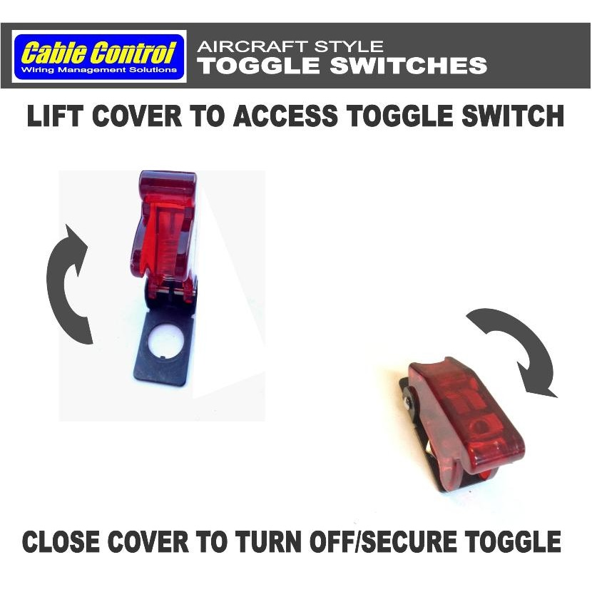 Cable Control Aircraft Style Toggle Switch | Shopee Philippines