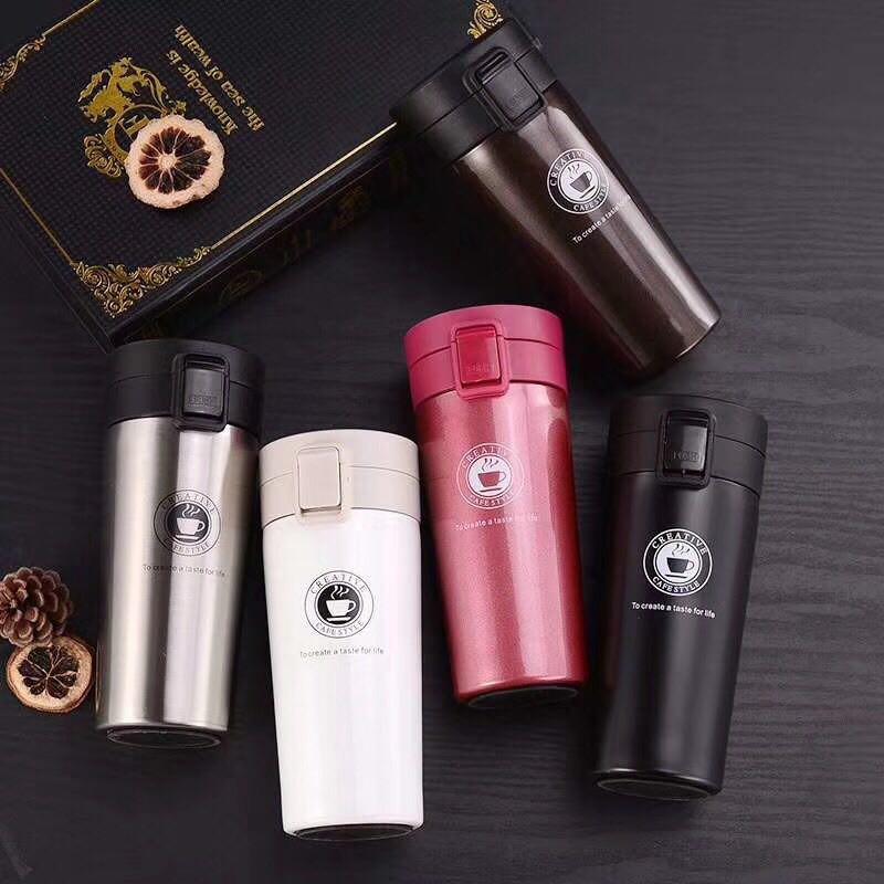 Thermos en Inox Garder la chaleur et le froid 350ML Ideal pour cafe et thé Vacuum Insulation Cup, imychic