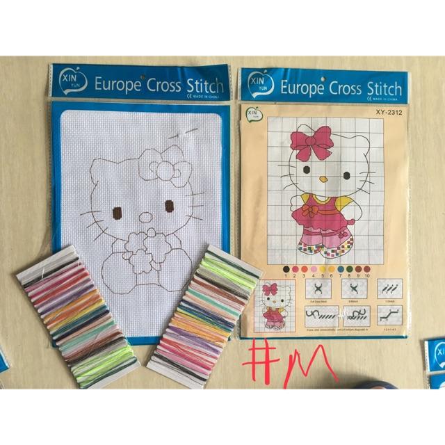 Cross Stitch (medium and large)