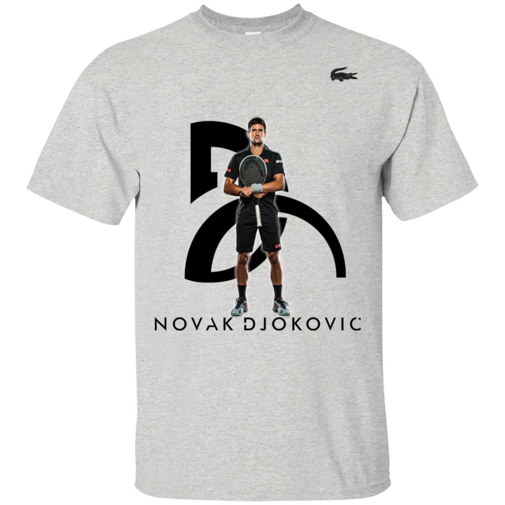 Novak Djokovic S Premium Wimbledon Champ White Grey Men T Shirt Shopee Philippines