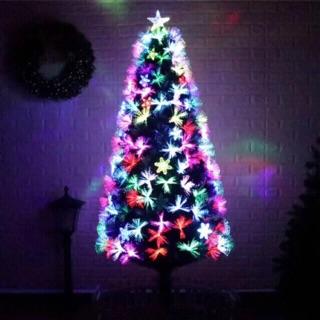Fiber Optic Christmas Trees.7ft 210cm Fiber Optic Christmas Tree