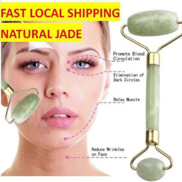 Cjxshop Jade Roller Facial Massage And Face Slimming Shopee Philippines