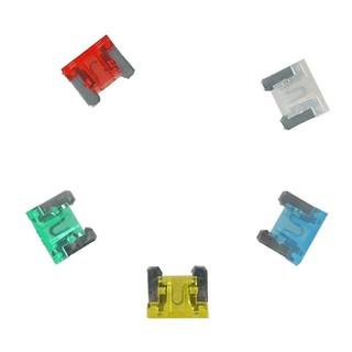 70 Pieces 5-30 AMP Slim Low Profile Mini Fuses 5A 7.5A 10A 15A 20A 25A 30A Set