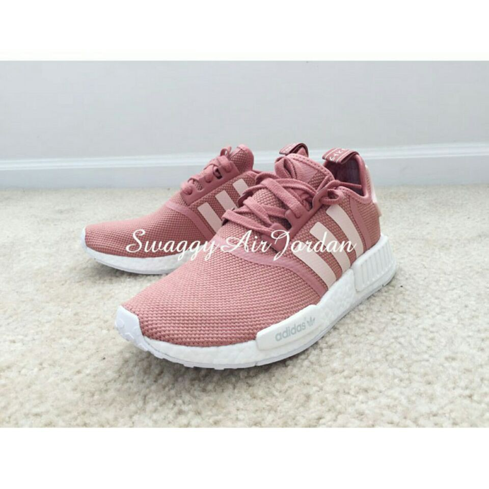 watch b1a8e 1c43a Ready Stock Adidas Original Nmd Pink Raw Pink Sneakers One W