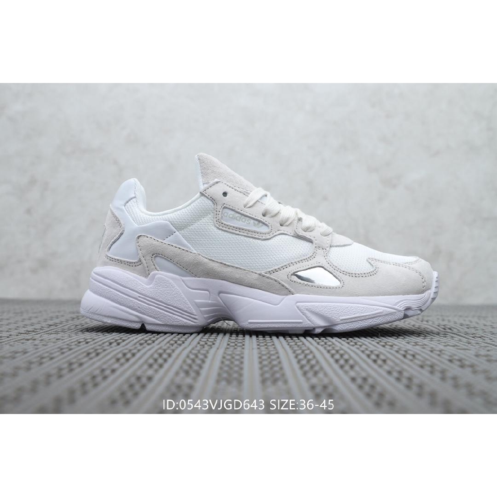 collar cultura Decaer  Original Adidas Falcon W men's and women's retro sports and leisure running  shoes-Colour 6th | Shopee Philippines