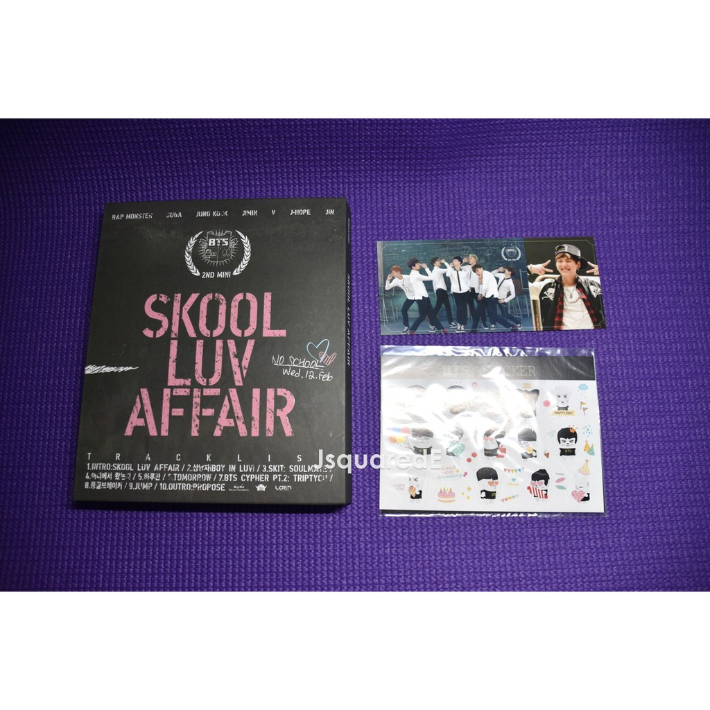 BTS - Skool Luv Affair -Mini Album Vol  2 [Pre-loved]