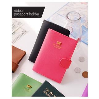 08beeee87a50 Glitter Passport Holder RFID Blocking Leather Travel Wallet | Shopee ...
