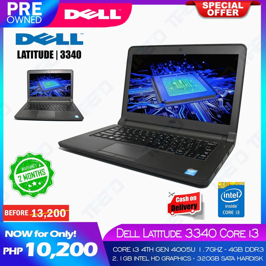 Dell Latitude 3340 Intel Core i3 4th Gen Notebook Laptop