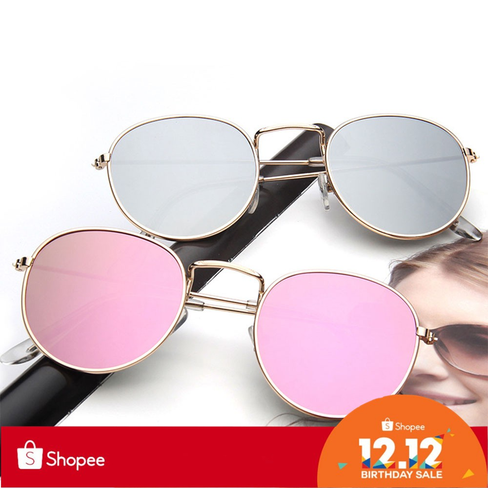 ced6cf24e Fashion Small Round Sunglasses Women Vintage Eyeglasses | Shopee Philippines