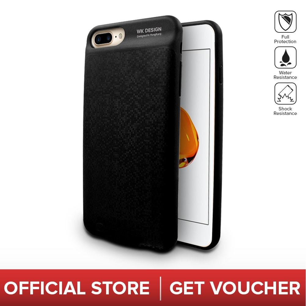 online retailer fd595 daa39 WK Design Saki Powerbank Phone Case For IOS Series