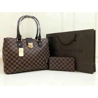 f739fcfece02 Lv set bag with wallet class a