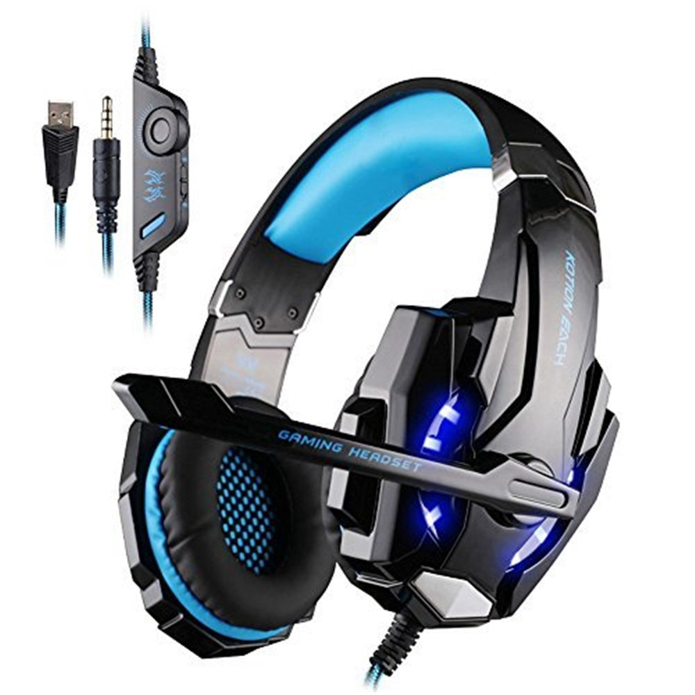 Kotion Each G9000 Gaming Headset With Led Light Headphones Shopee Philippines