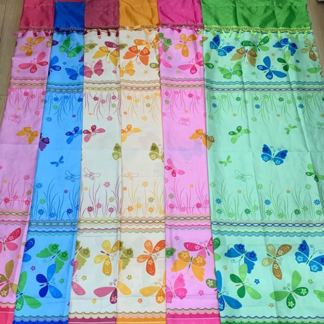 HANS Butterfly Sheer Curtain For Window Or Door Home