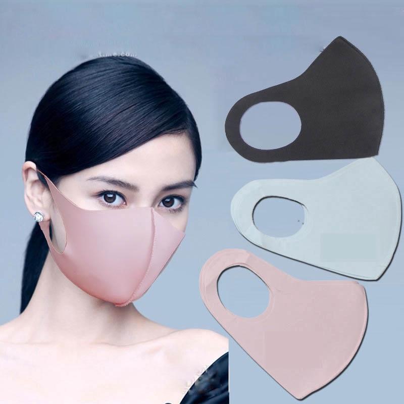 Ice Washable Silk Face Riding Fashion Dustproof Mask