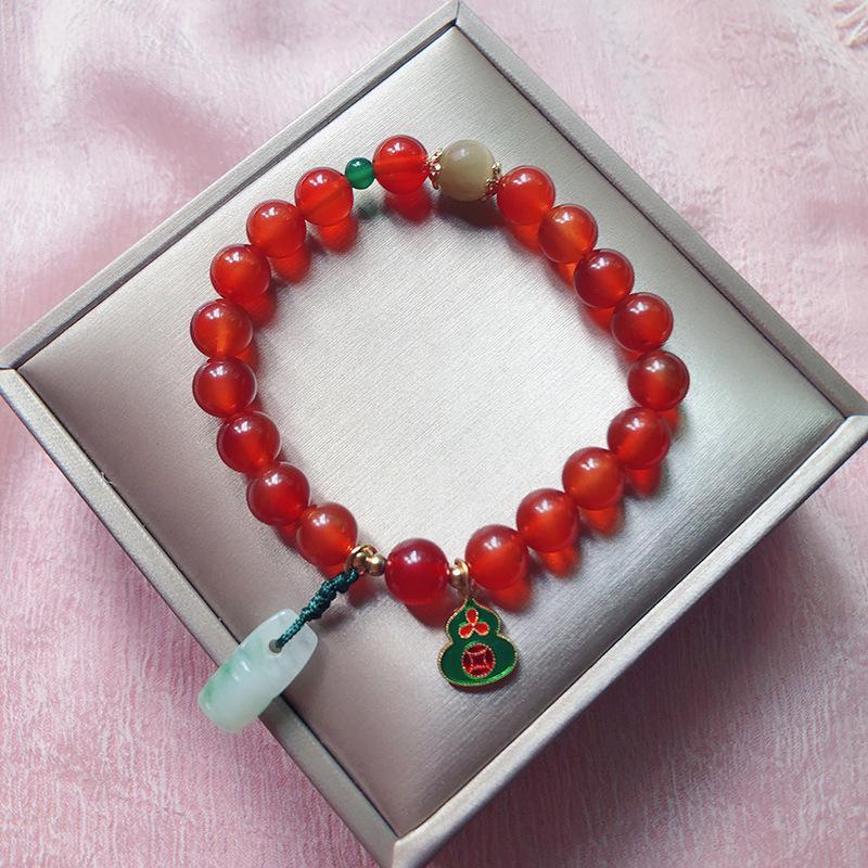 Red Agate bracelet