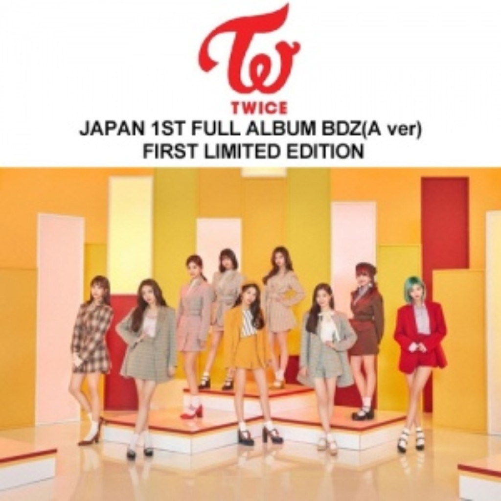 TWICE - JAPAN FULL ALBUM Vol 1 [BDZ]