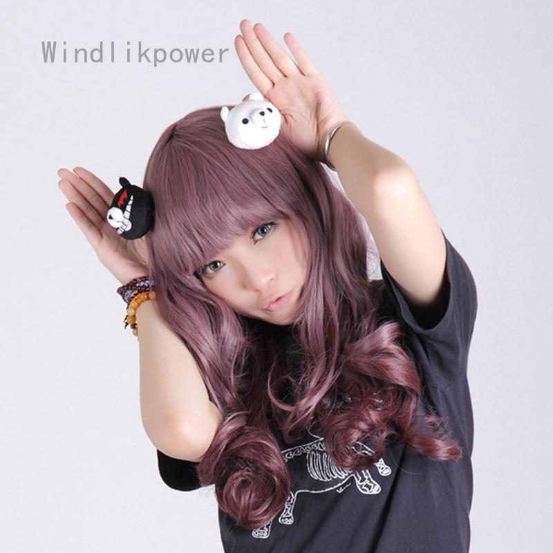 Girl/'s Enoshima Junko Hairpins Clip Anime Danganronpa Cosplay Hair Accessories