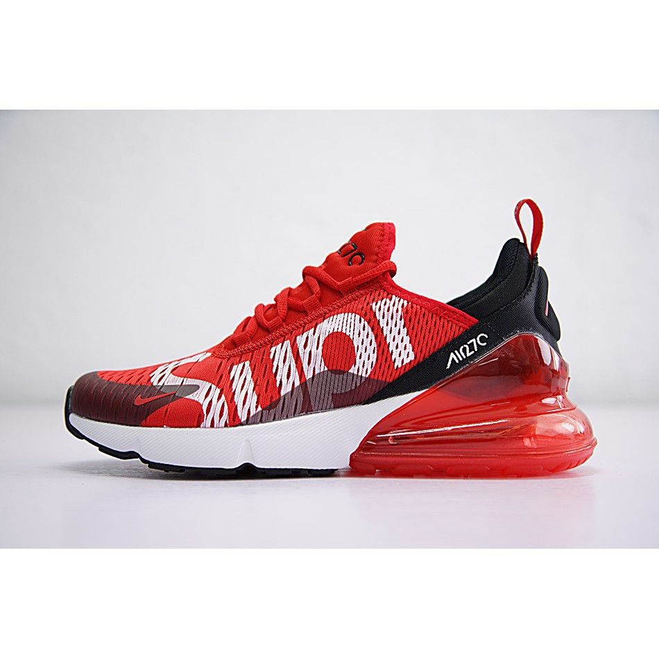 new style 7b960 dd365 Nike Air Max 270 x Supreme Shoes Men Airmax 27c Running Shoe