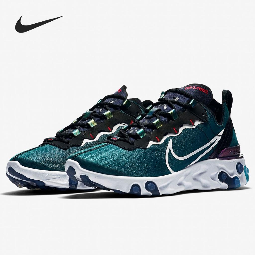 Sembrar Cuadrante operador  Original ready stock * Nike Nike genuine 2019 new NIKE REACT ELEMENT 55 M    Shopee Philippines