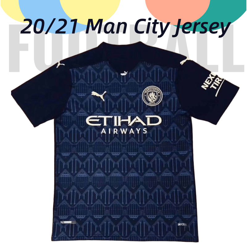 Top Quality 2021 Manchester City Black Soccer Jersey Grade Aaa Men Short Football Jerseys Add Name Number Man Size S Xxl Shopee Philippines