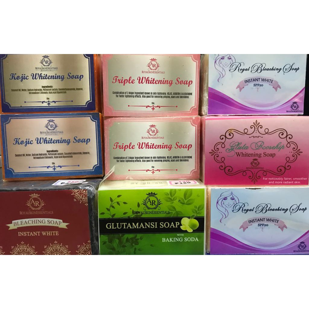 A R Royal Skin Essentials Best Seller Whitening Soaps Shopee Philippines