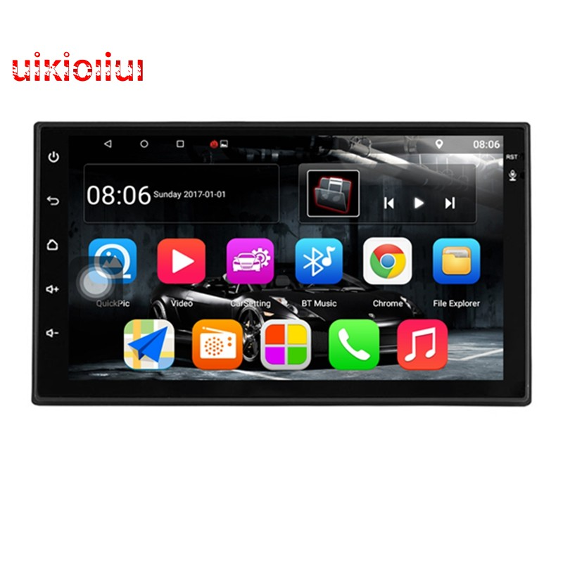 """Androi 7.1 9/""""1080P Double 2Din Touch Screen Quad-Core 1+16G Car Stereo Radio GPS"""