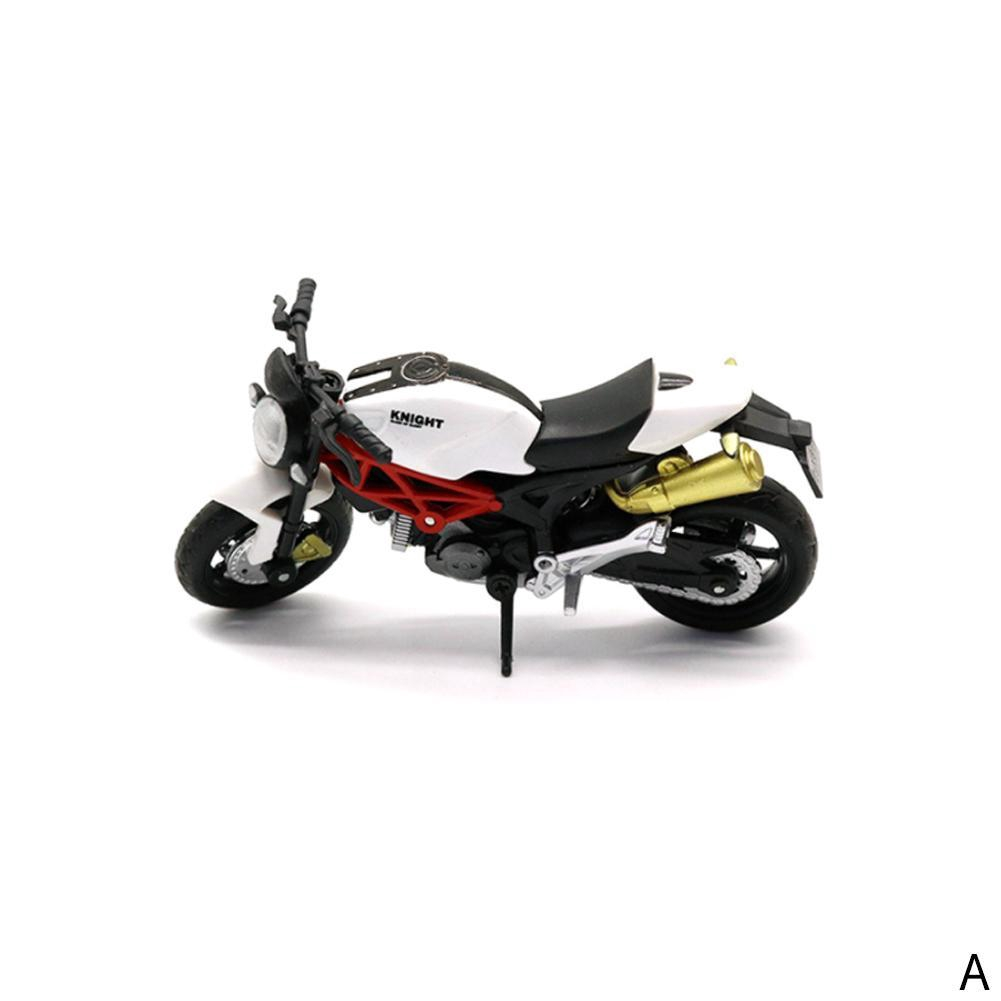 1//18 Scale Motorbike Toy Motorcycle Street Machine Friction Kids Collection