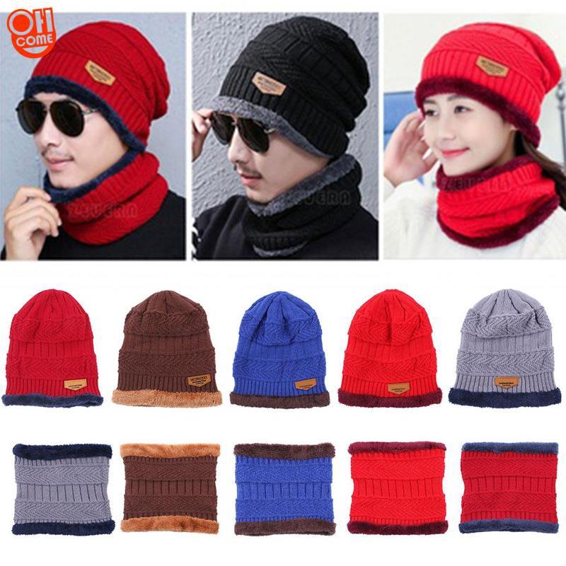 cfc80bae Crochet Cap Skull Knit Beanie Unisex Baggy Hip Hop Hat | Shopee Philippines