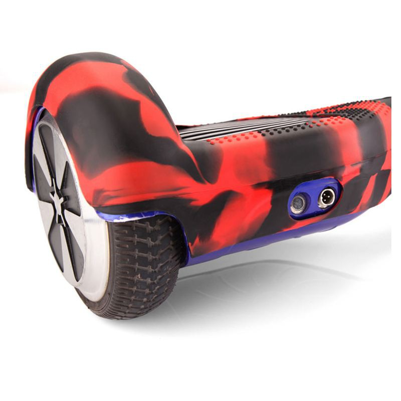 Youyijia Silicone Cover for 6.5 2 Wheels Balance Scooter Balance Hover Board Protector Case Cover