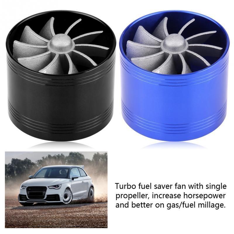 Air Intake Turbonator Fan Super Charger Fuel Saver Turbo