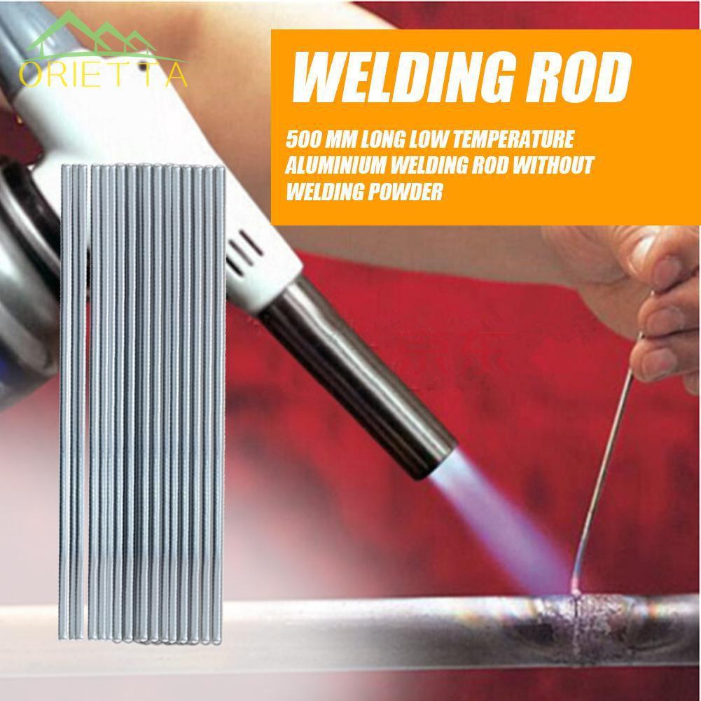 50 Piece Low Temperature Aluminum Welding Solder Wire Brazing Repair Rods Tools