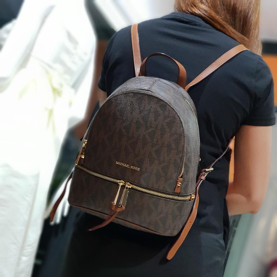 b15326453934 Authentic Michael Kors Rhea Backpack | Shopee Philippines