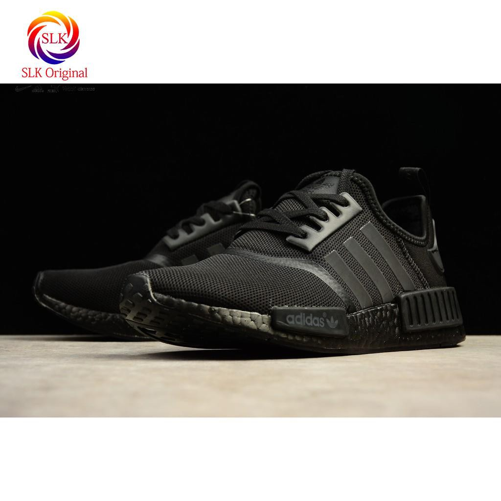 Mens Womens Adidas Originals NMD R1 Triple Black S31508 Running Shoes s31508