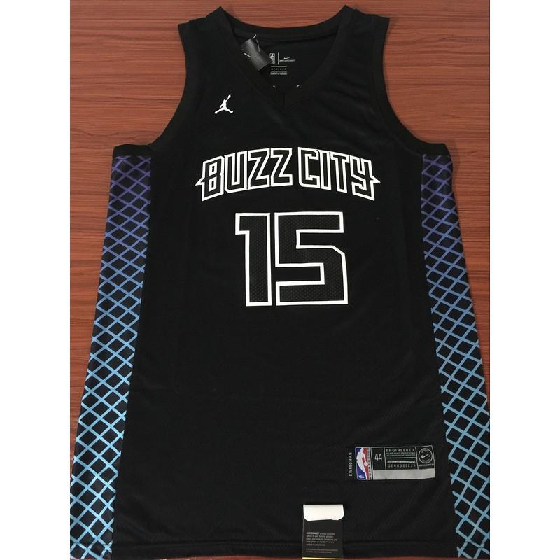 premium selection 6cd31 a95cb whites Jordan Kemba Walker #15 Charlotte Hornets NBA Jersey black Lowprice