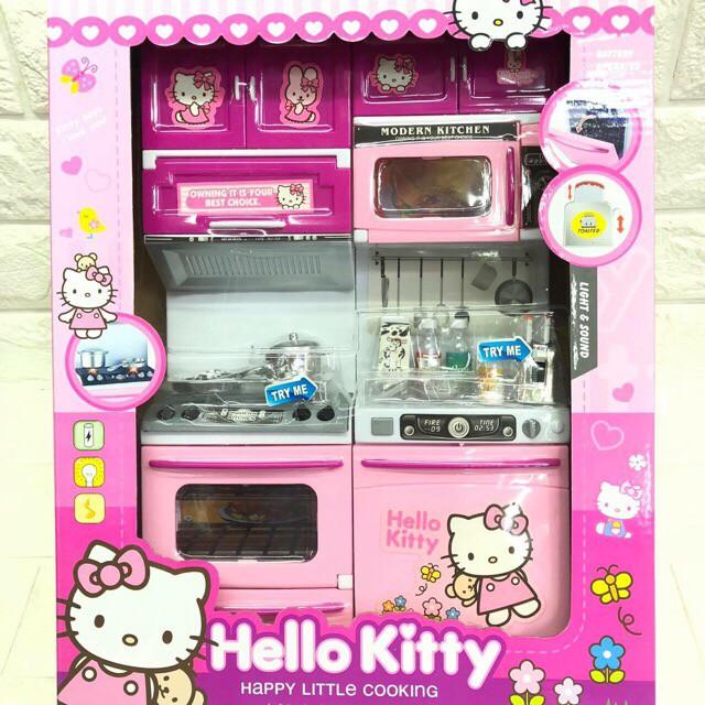 Hello Kitty Kitchen Set No 918 Shopee Philippines