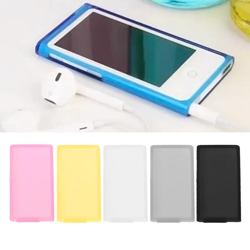 for Apple iPod Nano 7th Generation Soft Silicone Rubber Skin Cover Case