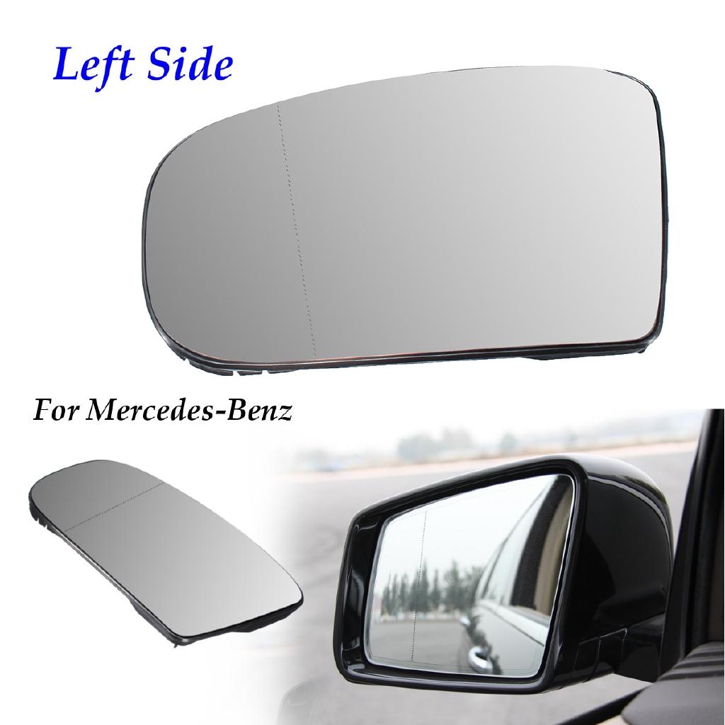 Left Passenger side Flat Wing door mirror glass for Mazda 5 2005-2015 heated