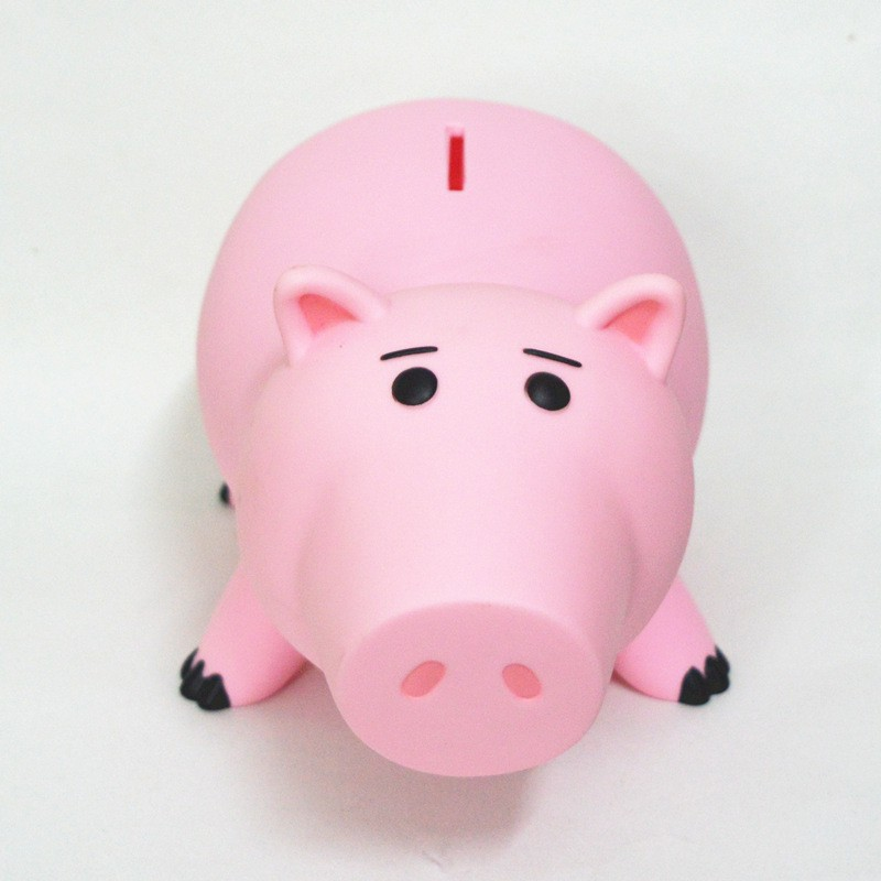 Toy Story Toy Piggy Bank Pink Pig Coin Box Gift For Kids 20cm