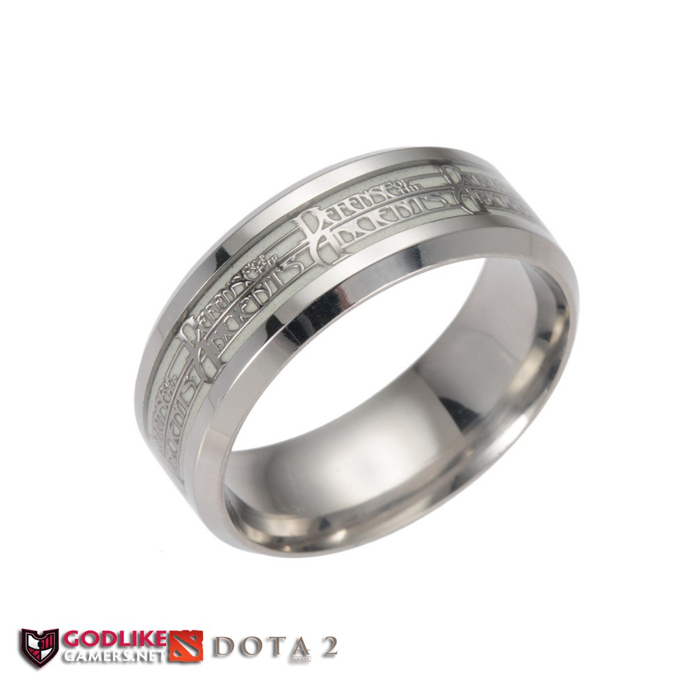 ✅COD DOTA 2 Glow in the Dark Ring - High Quality Dota2