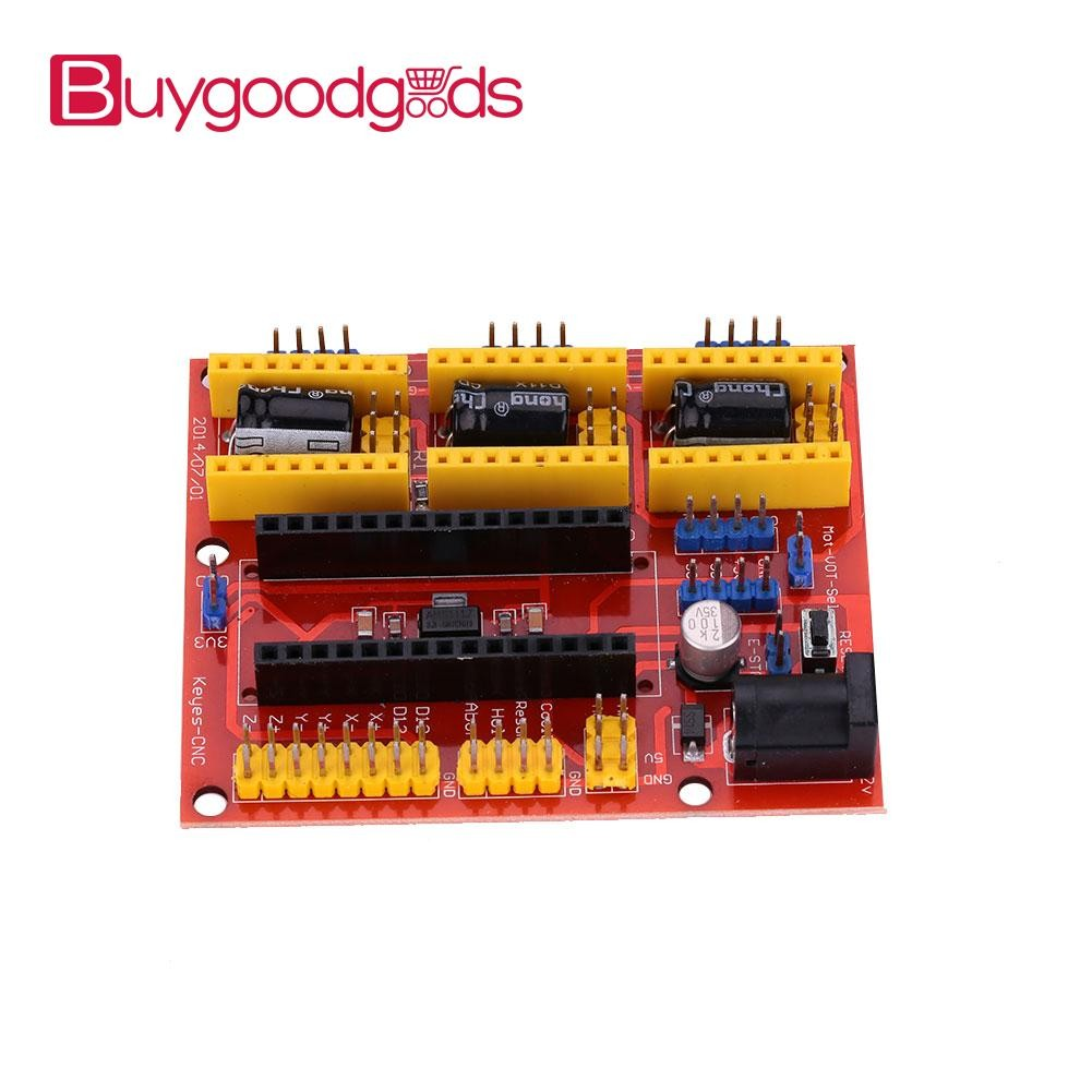 【Buy💓Good💓goods】CNC Shield V4 Engraving Machines A4988 Expansion Board  For Arduino 3D Printer