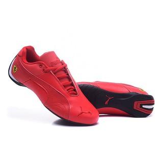 100% Original Puma Ferrari Red Sport Racing Running Shoes