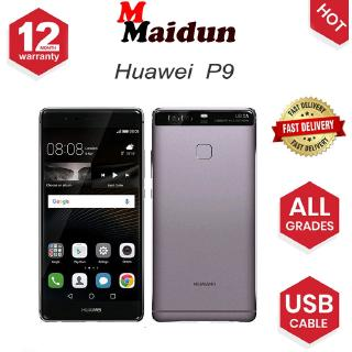 Huawei P9 Mobile Phone ROM 64GB Android Smartphone - 1 Year Local  Shop/Huawei Warranty