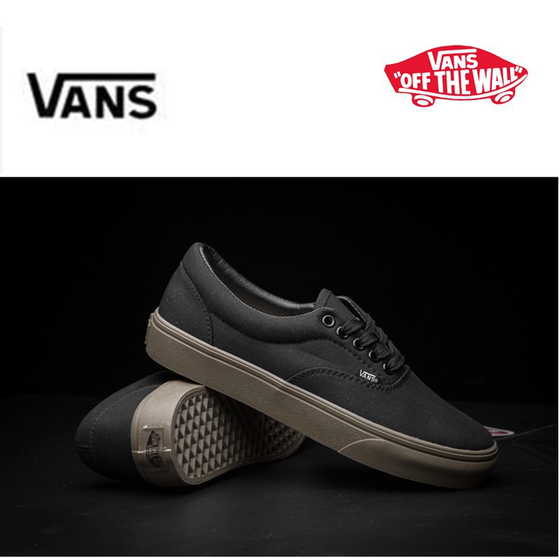 Vans OLD SKOOL all black canvas style shoes with box