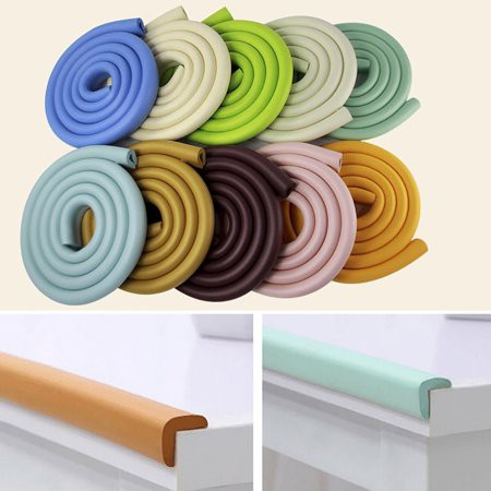 Baby Table Edge Corner Guard Protector Foam Bumper 2M Collision Cushion Strip