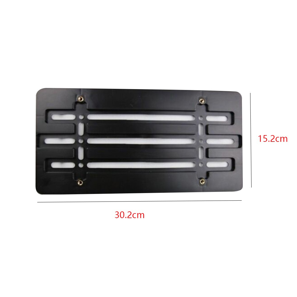 1X Black SQ5 Racing Stainless Steel License Plate Frame Cover Screw For Audi SQ5