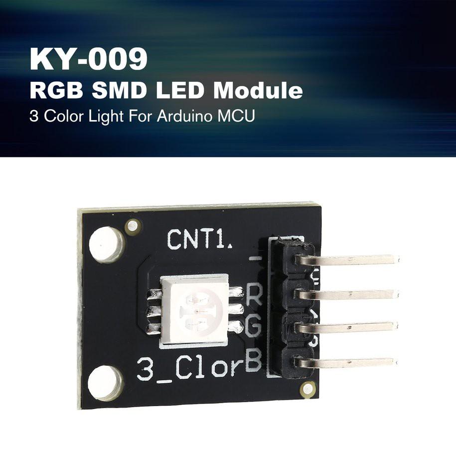 1PCS KY-009 5050 Pwm RGB SMD LED Module 3 Color Light For Arduino MCU