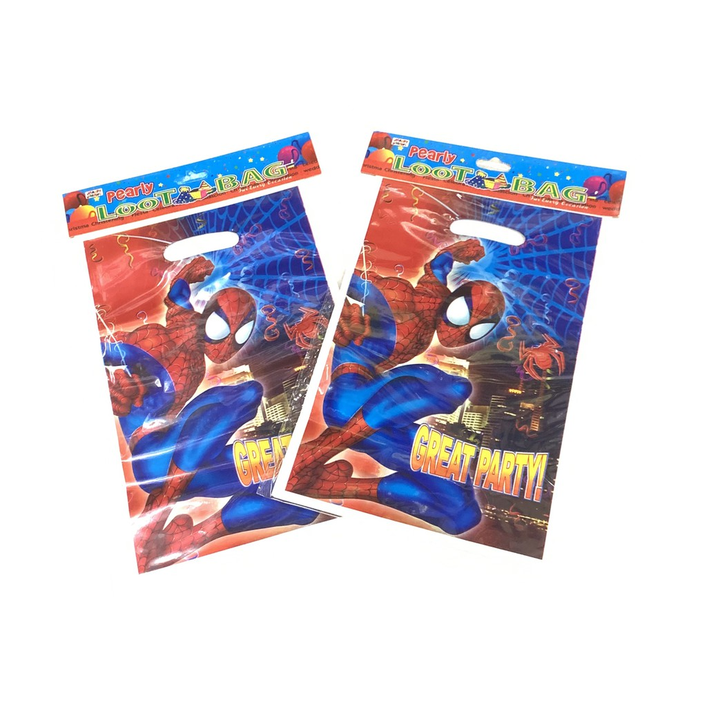 Avengers Birthday Party Bags Favor Goodie Gift Candy Loot Bags 25 pcs