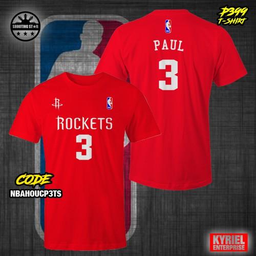 the best attitude 84697 a24d8 NBA Houston Rockets Paul 3 T-Shirt