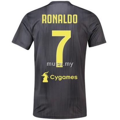 super popular e33ae 77974 Ronaldo 7 adidas Top Quality Juventus Third Football Jersey 18/19